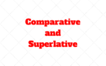 French Comparative and Superlative – Difference